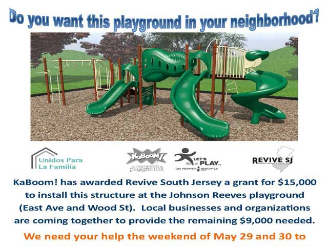 Revive SJ  Johnson Reeves Playground
