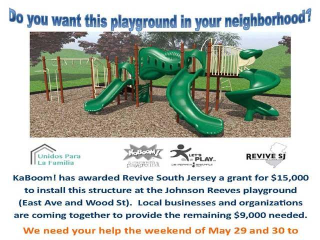Revive SJ  Johnson Reeves Playground